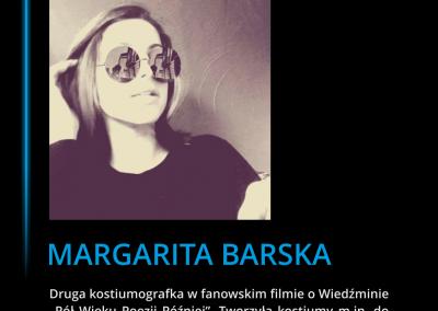 Margarita Barska - pół wieku